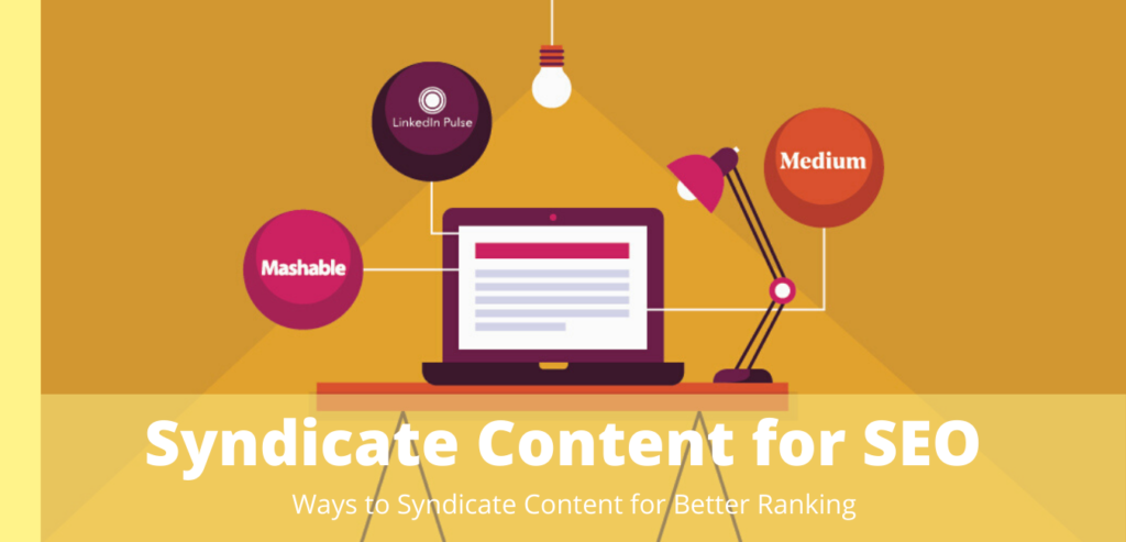Syndicate Content for SEO Optimization